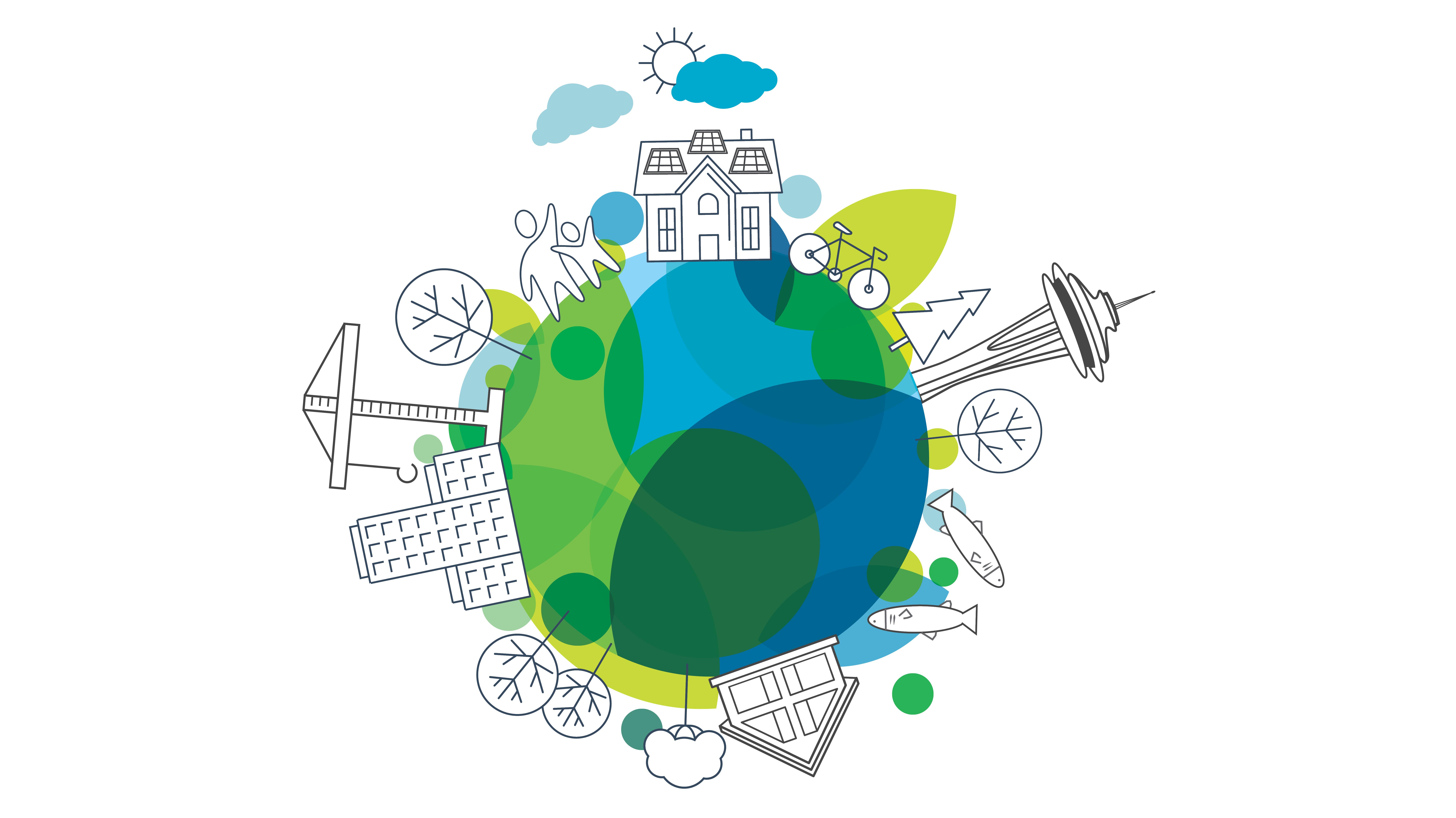 建立绿色地球